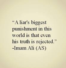 islamic quotes about lying images