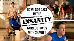 insanity workout dvd with shaun t