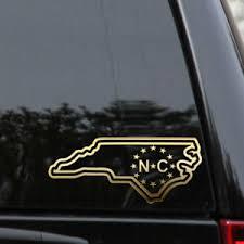 North Carolina Nc State Decal Sticker Outline Love Home Car Window Vinyl Ebay