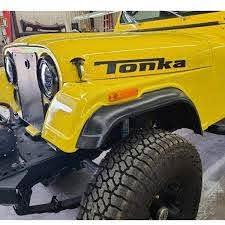 Amazon Com Tonka Stickers Vinyl Decals Jk Tj Yj Cj Pair For Trucks Jeeps Cars Handmade