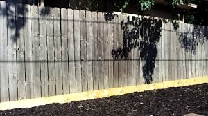 Saber Soft Wash Fence Cleaning Before Youtube