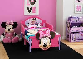 Minnie Mouse Toddler Bedroom Furniture Set Disney Bed Toy Bin Pink Girls For Sale Online Ebay