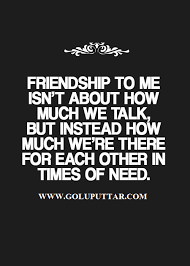 true friendship quote words real friendship is something else
