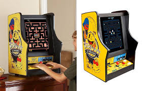 ms pac man galaga tabletop arcade game