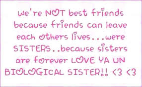 quotes about friends being like sisters