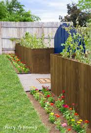 Planter Box Fence Stacy Risenmay