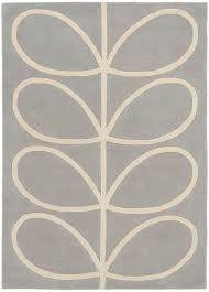 giant linear stem rug orla kiely