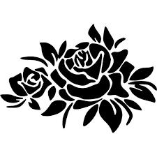 Decorative Flower Decal Sticker Decorative Flower Decal