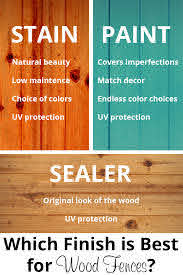 Which Finish Is Best For Your New Wood Fence Acre Life Diy Painted Wood Fence Wood Fence Cedar Fence Stain