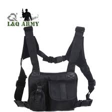 chest pocket harness bag holster holder