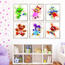 Set 6 Muppet Babies Prints Muppets Print Muppet Babies Poster Etsy