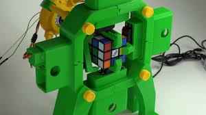 a 3d printed rubik s cube solving robot