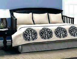 daybed bedding black and white home