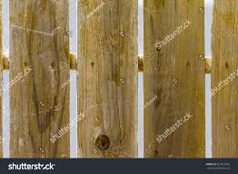 Redwood Picket Fence Panels Close Stock Photo Edit Now 657812026