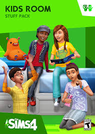 Amazon Com The Sims 4 Kids Room Stuff Online Game Code Video Games
