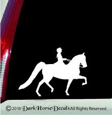 Morgan Horse Saddleseat Rider Vinyl Car Decal Indoor Outdoor Etsy
