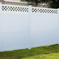 Weatherables 5 In X 5 In X 10 Ft White Vinyl Fence End Post Lwpt End 5x120 The Home Depot