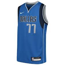 Luka Doncic Dallas Mavericks Nike Youth Swingman Jersey Blue ...