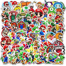 2020 Mixed No Repeating Mario Car Sticker For Laptop Skateboard Pad Bicycle Motorcycle Ps4 Phone Luggage Decal Pvc Guitar Fridge Stickers From Cindyyyyy 3 32 Dhgate Com