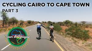 cycling cairo to cape town on the tour