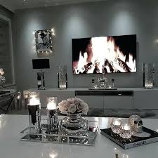 living room mirrored furniture rooms