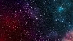 galaxy universe filled with stars stock