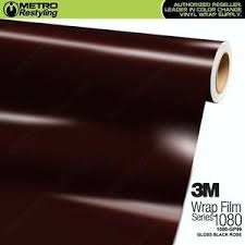 3m 1080 Gp99 Gloss Black Rose Vinyl Vehicle Car Wrap Decal Film Sheet Roll Ebay