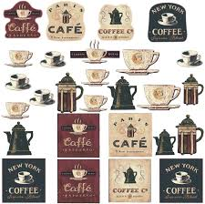 Coffee House Bakery Shop Cafeteria Lounge Room Kitchen Wall Sticker Decor Decal Decoration Amazon Com