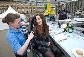 Daredevil Scottish Sun girl Lisa Boyle scoffed four-course meal ...