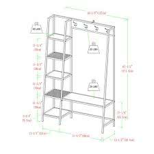 Ada Hall Tree and Shoe Storage & Reviews | Birch Lane