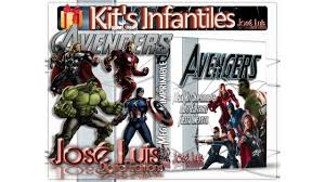 Mega Kit Imprimible 100 Editable Avengers Vengadores Jose Luis