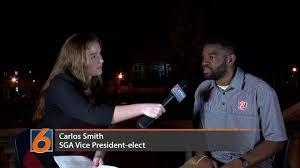 SGA vice presidential winner Carlos Smith - Eagle Eye TV