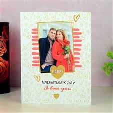 custom happy valentine day card