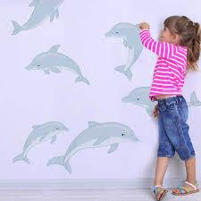 Dolphin Wall Decal Set By Chromantics