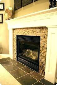 glass tile fireplace surround styleid co