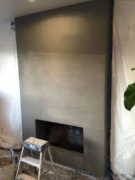 from white brick to grey stucco our