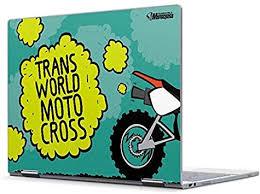 Amazon Com Skinit Decal Laptop Skin For Pixelbook Originally Designed Transworld Motocross Animated Design Electronics