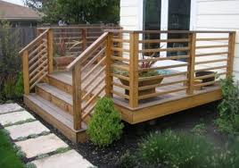 Diy Wood Deck Railing Designs