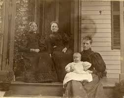 Four generations of Olds Cook Monroe family Southbridge ...