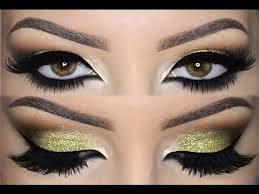 tips for glamorous glitter eye makeup