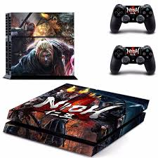 New Nioh Decal Ps4 Skin Sticker For Sony Playstation 4 Ps4 Console 2pcs Controller Protective Skins Consoleskins Co