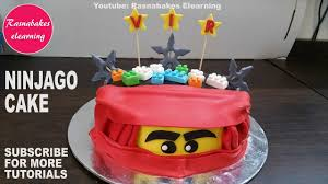 lego ninjago birthday cake design ideas decorating tutorial video at home  classes courses - YouTube