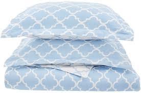 cotton trellis geometric bedding