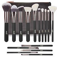 makeup brushes msq 15pcs pro rose gold