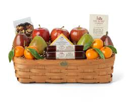 a hickory farms gift basket review