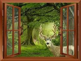 Window Scenery 3d Wall Stickers Bring Smiles And Laughter