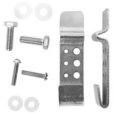 Smartsign Fence Clip 02attach A Sign To Chain Link Fence Kit Includes 2 Fence Clips 2 Bolts 2 Screws And 4 Nylon Washers From Smartsign Amazon Com Garden Outdoor