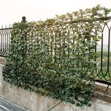 Shop Costway 59 X95 Faux Ivy Leaf Decorative Privacy Fence Screen On Sale Overstock 18116288