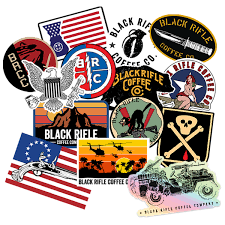 Stickers And Swag Black Rifle Coffee Company