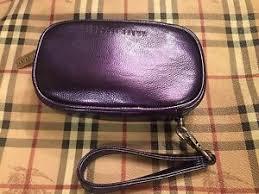 bobbi brown faux leather makeup bag